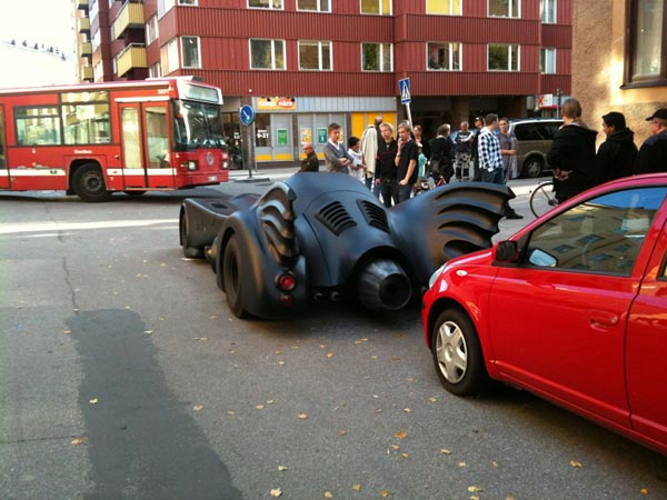 Batmobile Stockholm